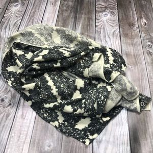 Anthropologie Michael Stars Printed Soft Scarf
